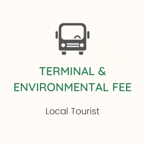 Government Fees for Local Tourist