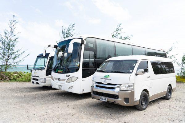 Transfers by Island Star Express