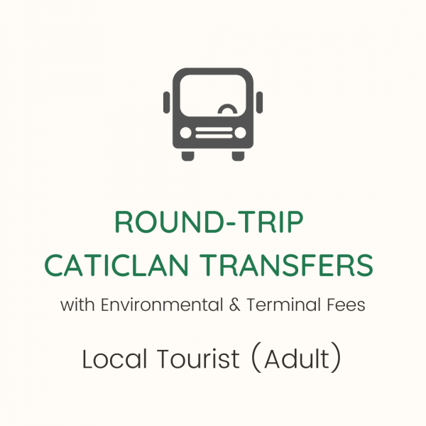 Round Trip Caticlan Transfers with fees adults