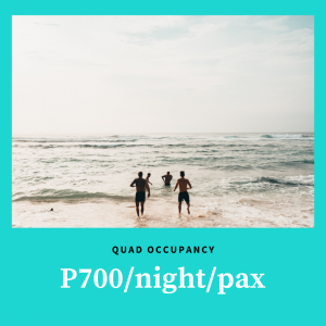 Quad Stay at Patio Pacific Boracay