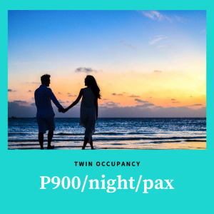 Twin Stay at Patio Pacific Boracay